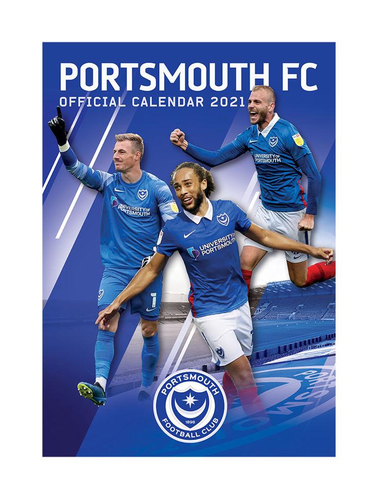 Portsmouth FC Online Store - 2021 CALENDAR